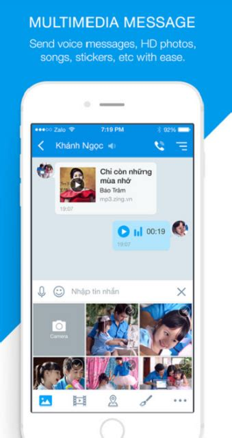 zalo apk tải zalo 100 miễn ph 237 về điện thoại android ch play