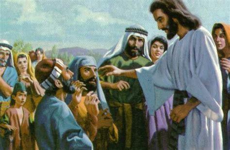 imagenes de jesus hablando con un joven orar con san marcos ii mc 8 22 26 el ciego de betsaida