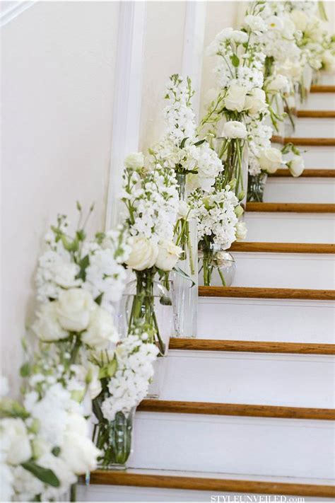 20 best staircases wedding decoration ideas deer pearl flowers