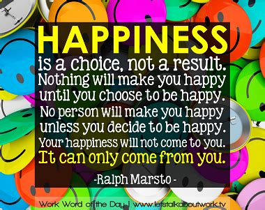 happiness is a choice you make lessons from a year among the oldest books work word of the day 5 7 13