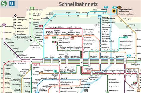 munich metro map munich metro transit