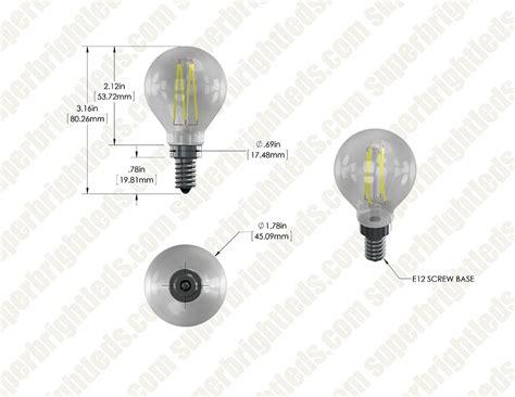 best 28 e12 bulb base 4 watt led g14 led filament bulb 40 watt equivalent led candelabra