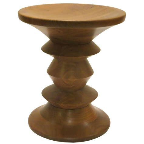 american mid century modern eames walnut stool for herman