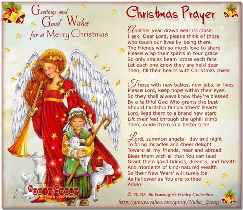 image of winters blessing christmas tree prayer quotes quotesgram