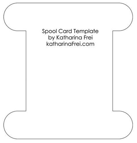 interest card template spool card template my sketches and templates