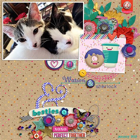 digital scrapbook template farewell to summer dressed up