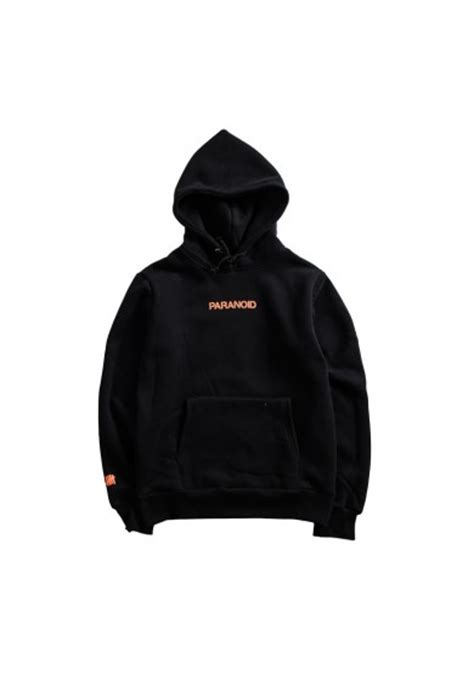 Hoodie Anti Social Paranoid New Coming T0210 anti social social club assc undefeated paranoid pouch hoodie black