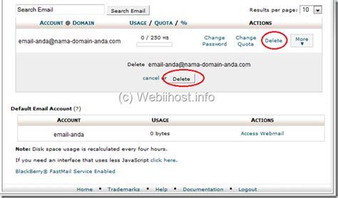 membuat email di cpanel webiihost info membuat akun email di cpanel