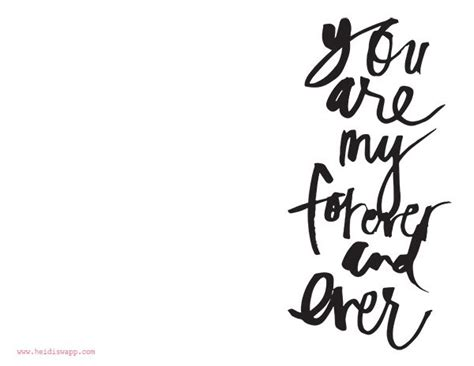 printable quotes in black and white perfect valentine printable handwritten brush script