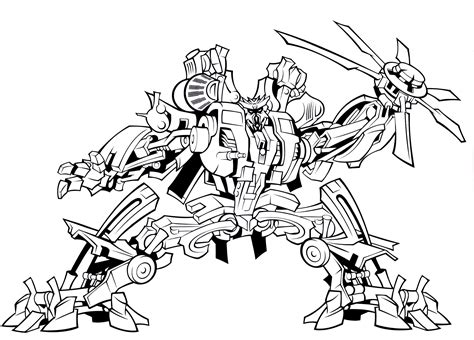 bulkhead transformer coloring page cartoon pinterest