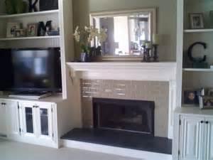 Fireplace Mantel Bookshelves Fireplace With Built In Bookshelves Custom Trimwork