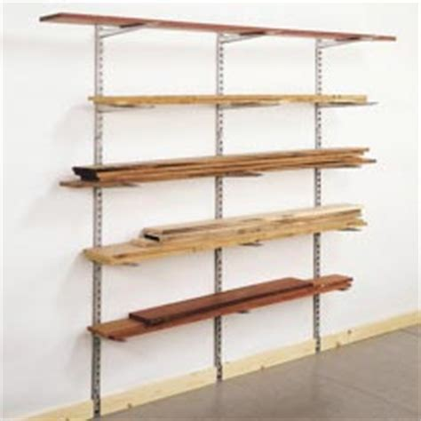 Bracket Shelf System by Lumber Rack Storage System Cool Tools