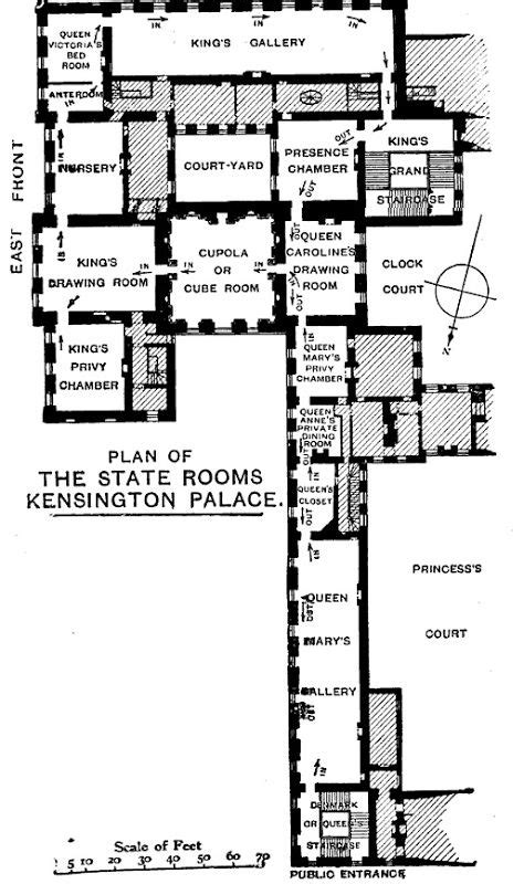 kensington palace 1a floor plan 41 best images about diana royal residences on pinterest