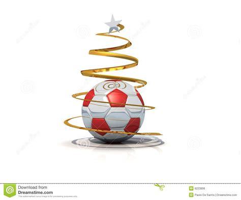 imagenes navidad futbol 193 rbol de navidad del f 250 tbol aislado stock de ilustraci 243 n