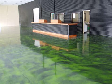 Environmentally Friendly Epoxy Resin Floors from Sexy Floors