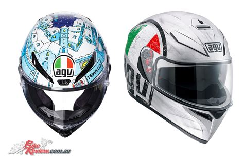 Helm Agv New new australian agv website launched bike review