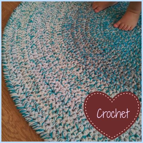 how to crochet a rag rug from t shirts crochet rug roselawnlutheran