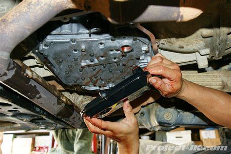 jeep jk wrangler rle automatic transmission service project jkcom