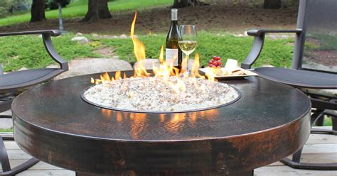 Glass Firepit Glass For Pit Pit Design Ideas