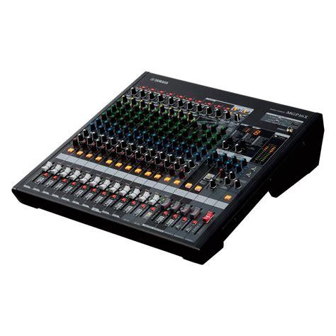 Mixer Yamaha Mgp16x yamaha mgp16x premium 16 channel mixer at gear4music