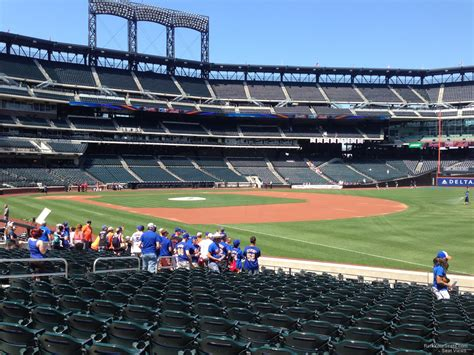 citi field section 109 citi field section 109 rateyourseats com