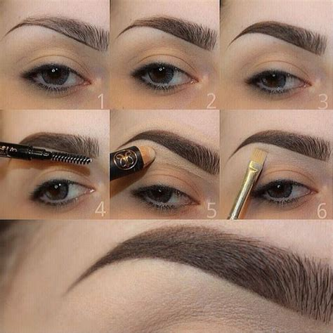 tutorial natural eyebrows tutorial for smooth and natural eyebrows chikk net