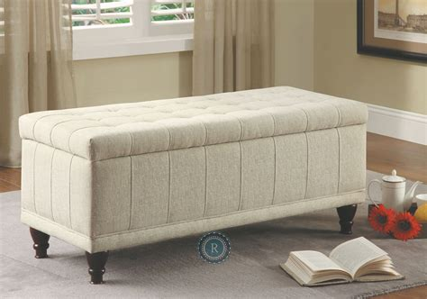 lift top storage bench afton cream lift top storage bench from homelegance 4730nf coleman furniture