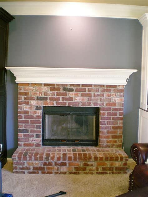 whitewashed brick fireplace project 2011 whitewash brick it cleverly