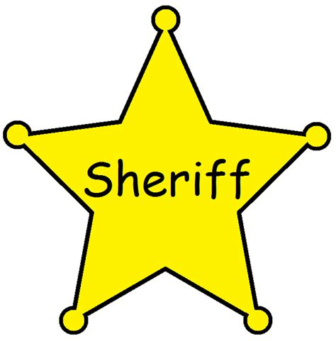free sheriff badge clipart cliparts and others art