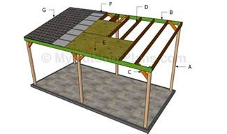 carport construction plans download timber carport construction