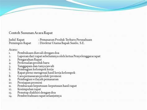 Contoh Laporan Meeting by Manajemen Rapat Dan Notulensi Ppt