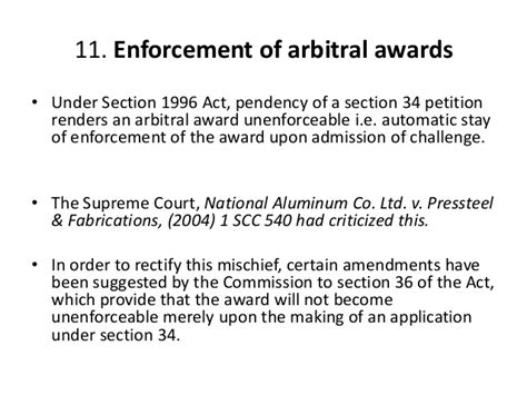 section 11 of arbitration act mediation and conciliation and companies acts 2013 nclt