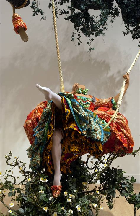 yinka shonibare the swing the swing after fragonard yinka shonibare mbe tate