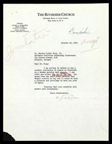letter from robert j mccraken to mlk the martin luther