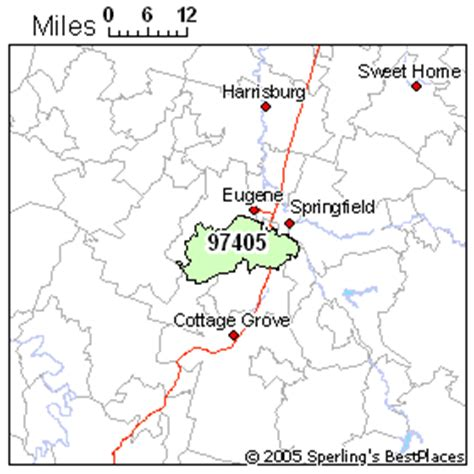 map of eugene oregon zip codes best place to live in eugene zip 97405 oregon