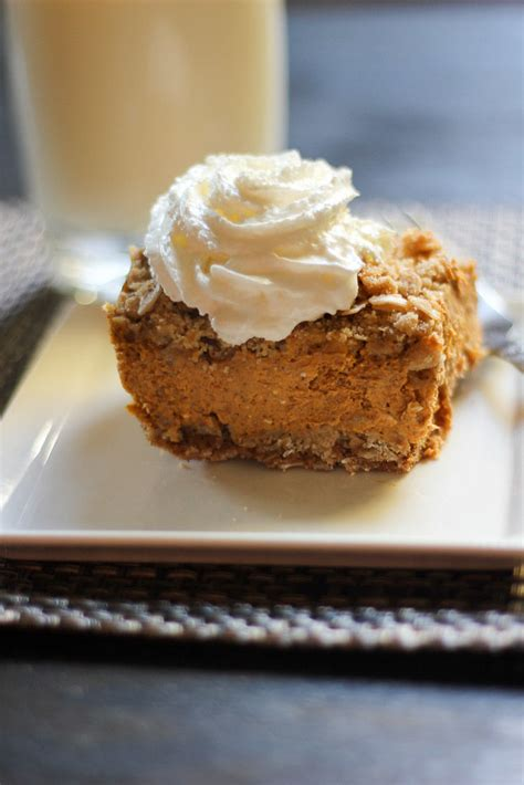 Pumpkin Bars With Crumb Topping by Pumpkin Pie Oat Crumble Bars Edible Experiments