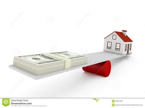 in house mortgage house mortgage royalty free stock image image 30951366