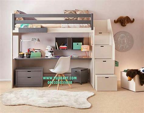 Meja Belajar Dan Nya tempat tidur anak dan meja belajar ranjang anak tingkat pujieart furniture jepara