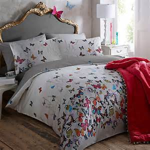 Super King Size Duvet Cover Sets Butterfly Home By Matthew Williamson Light Grey