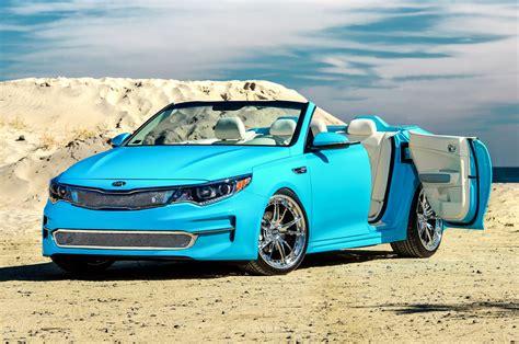 A 1 Auto Upholstery Convertible 2016 Kia Optima Concept Heads To Sema