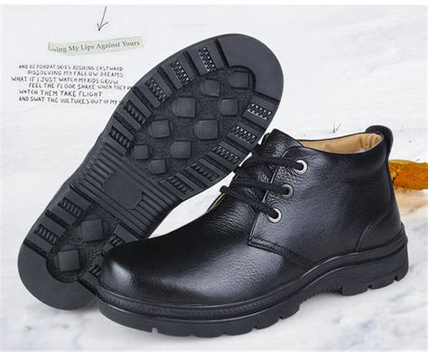 classic winter mens boots on sale fashion black shoe boots