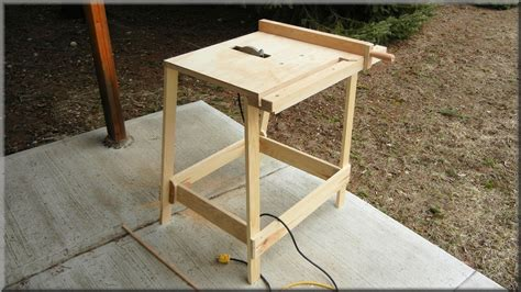 how to make a table saw bench utility table saw youtube