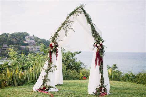 Of A Wedding by Bohemian Chic Sayulita Wedding Annika Xavi Green