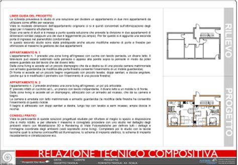 relazione tecnica ristrutturazione interna appartamento schema impianto elettrico tavola tecnica di approfondimento
