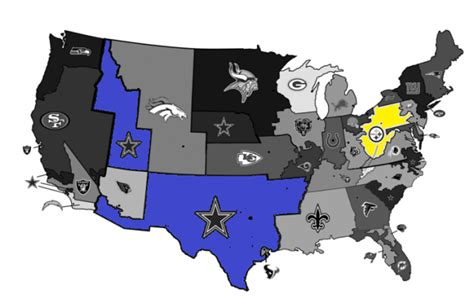 what nfl team has the most fans nationwide montclair socioblog february 2013