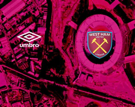 Kaos West Ham United Overlay west ham badges west ham umbro overlay claret map