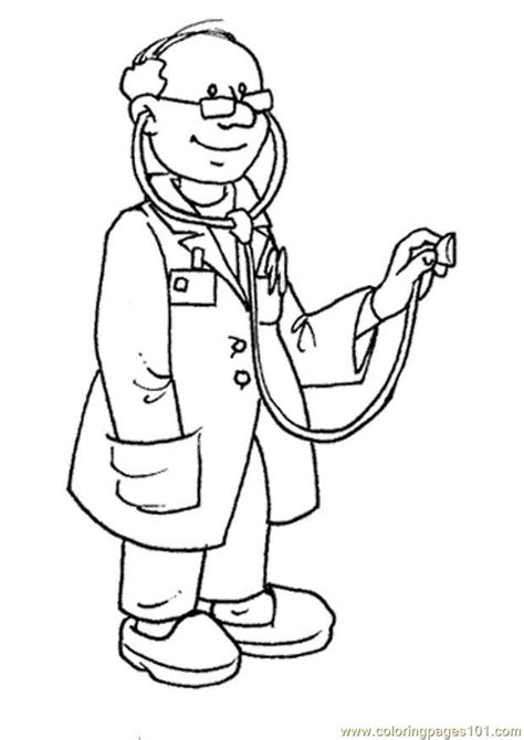 occupations coloring pages bestofcoloring com