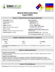 Safety Data Sheet Template by Material Safety Data Sheet
