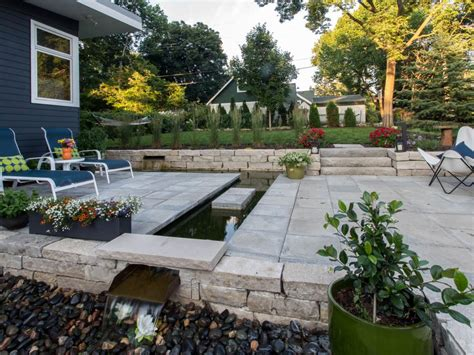 Patio Water Feature Ideas Hgtv Water Features For Patios