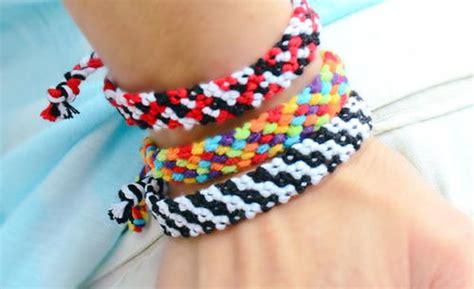rag rug friendship bracelet how to make friendship bracelets with the rag rug pattern allfreejewelrymaking